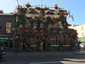A lovely looking pub in Notting Hill Gate