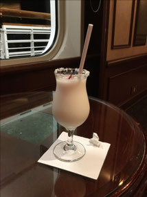 First (and last) FREE drink on the cruise