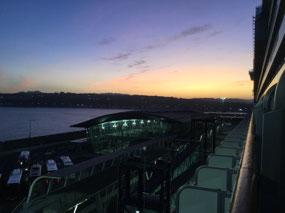 Sunrise at 7:45 am!