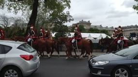 Celebrating VE Day with longest horse parade EVER!