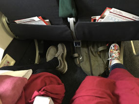 Love those exit rows