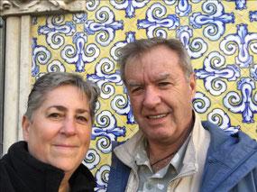 The famous decorative tiles