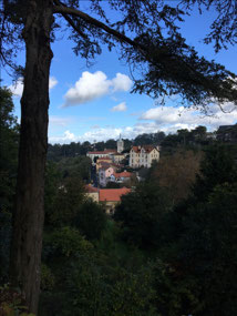 The views in Sintra