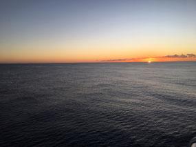 Calm seas and beautiful sunsets