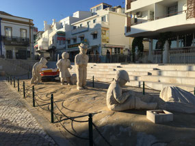 Sculptures in Old Town