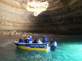 The original cave tour boat