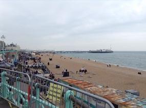 Brighton Pier in the distance