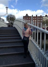 Fay on the Ha'Penny Bridge