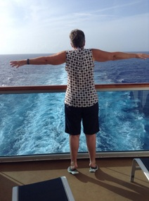 My imitation of Titanic, but at the ship's aft!!