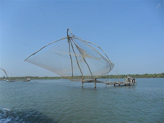 Chinese Fishing Nets, Backwaters Kerala