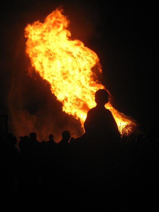 le feu de la St. Jean