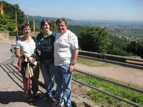 Letztes Foto beim Hambacher Schloss