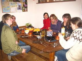 FÖJ-Treffen in La Cailles Küche