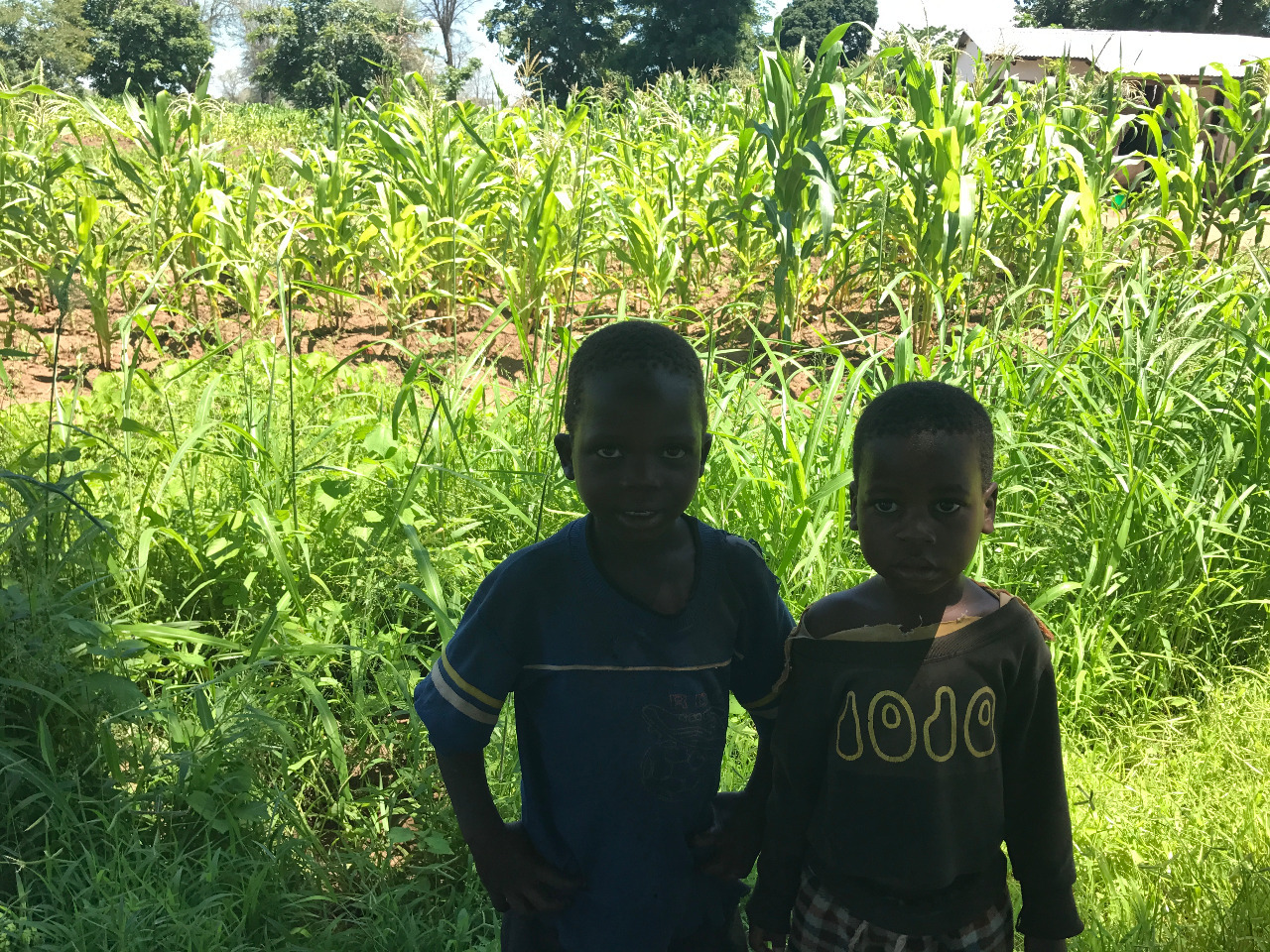 some kids from the village we got lost in