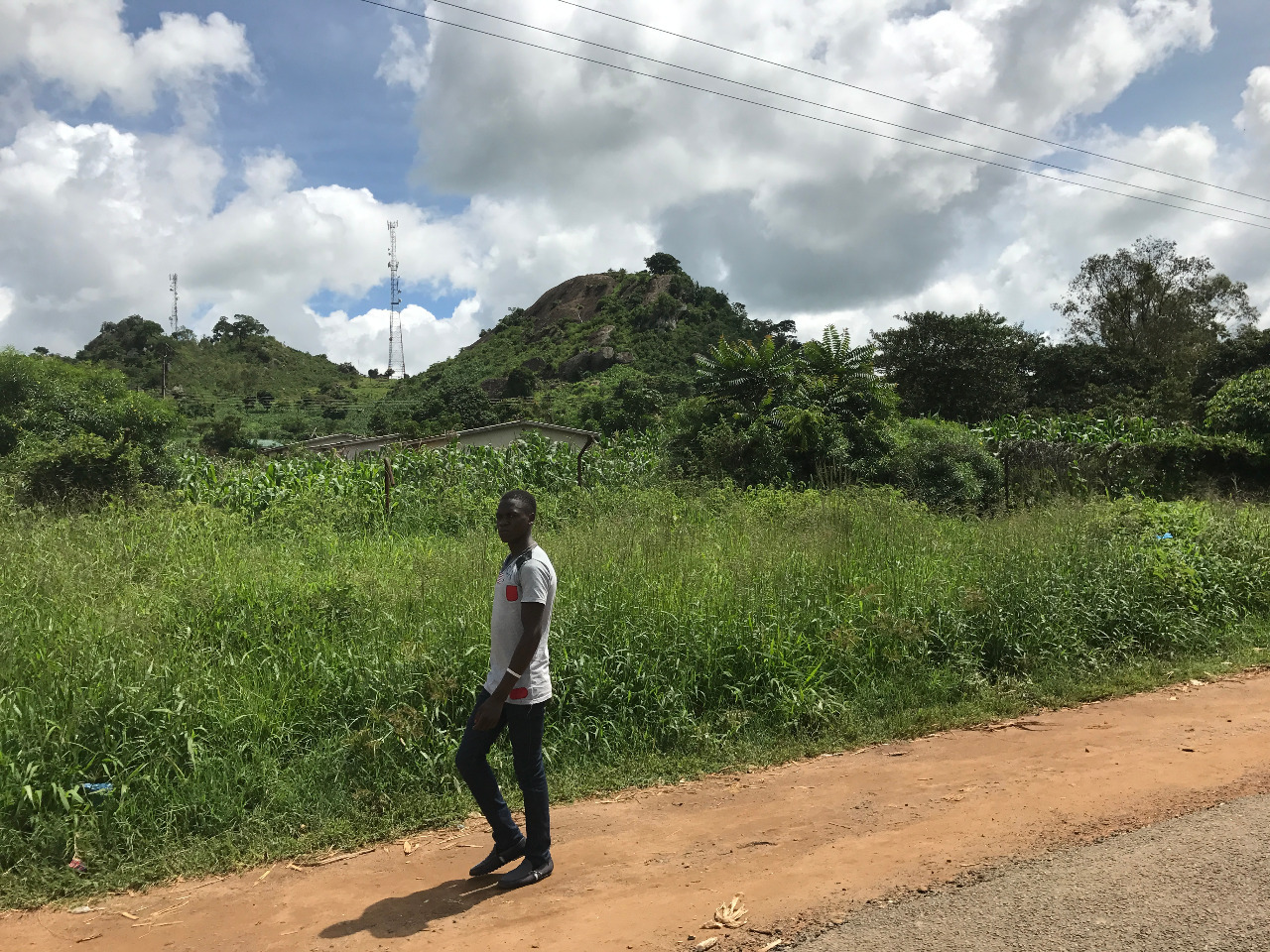 The road to Dedza