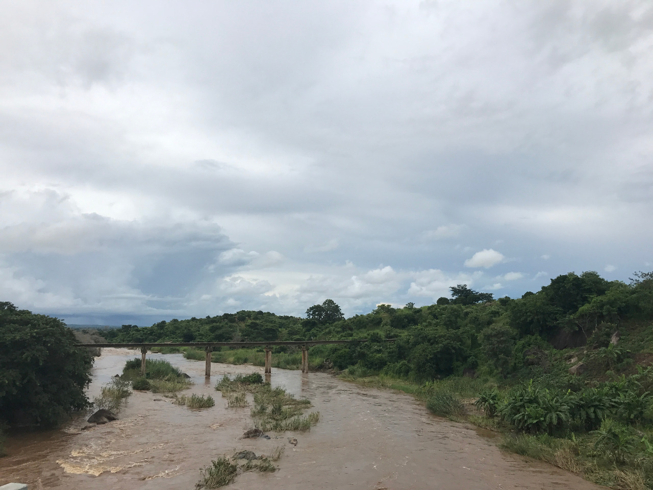 Bua river leading to Lake Malawi