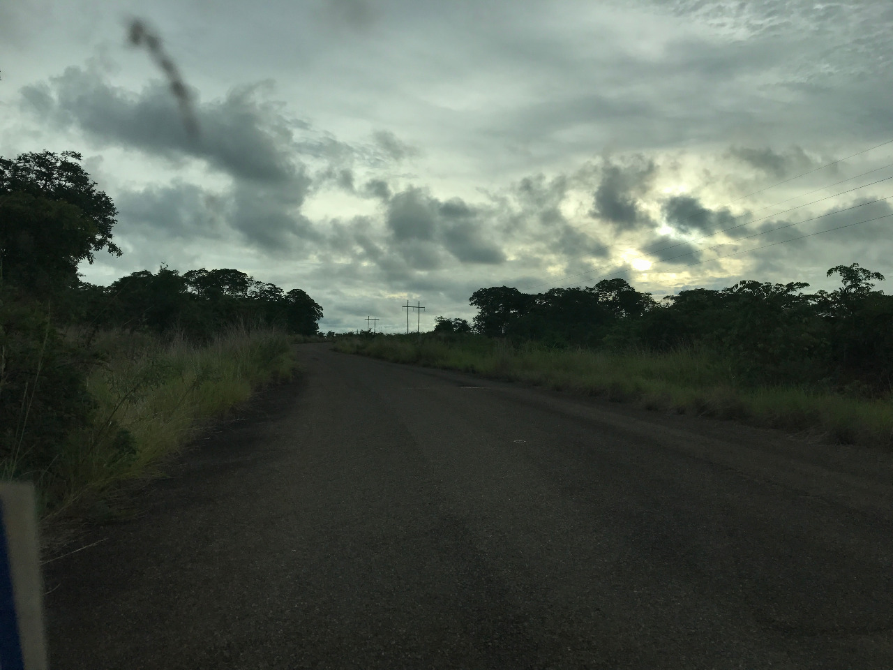 The road to Nkhotakota