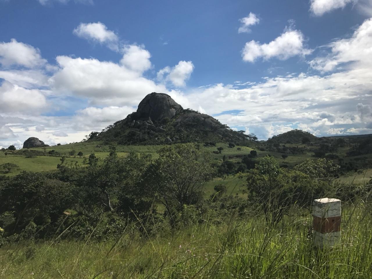 Boulder on the way to Mzuzu