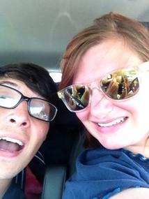 Roadtrip Selfie