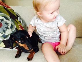 Lydia loving Lola