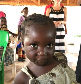 Little girl in Mzuzu