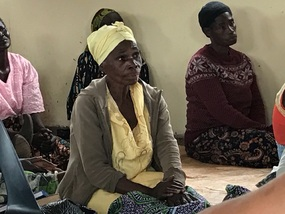 Widow that cares for HIV orphans