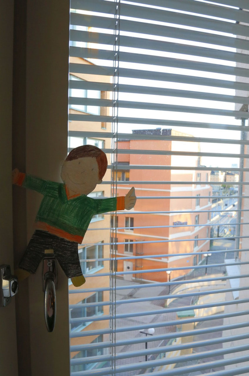 Flat Stanley says goodbye from Stockholm