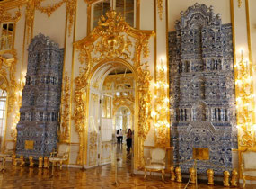 The Fireplaces of Catherine Palace