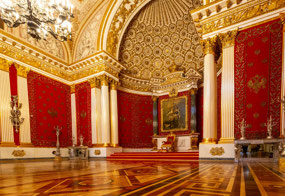 Throne room at the Hermitage