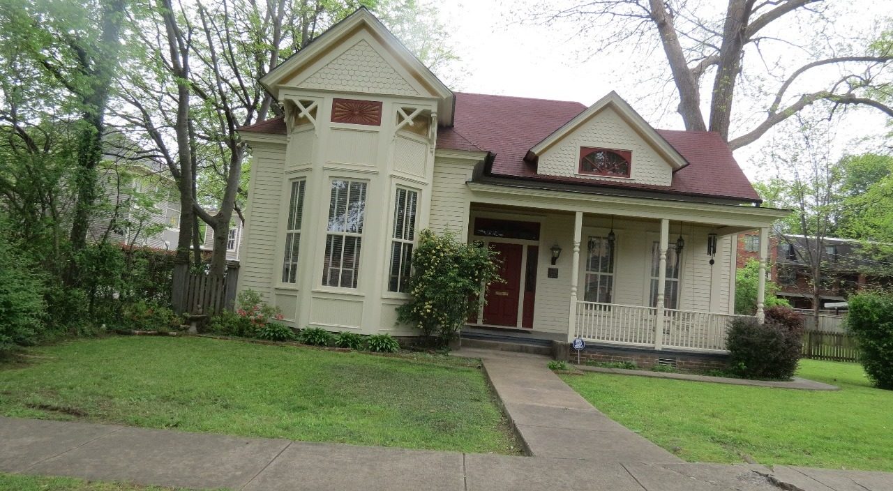 Antibellum home in the QuaPaw Quarter