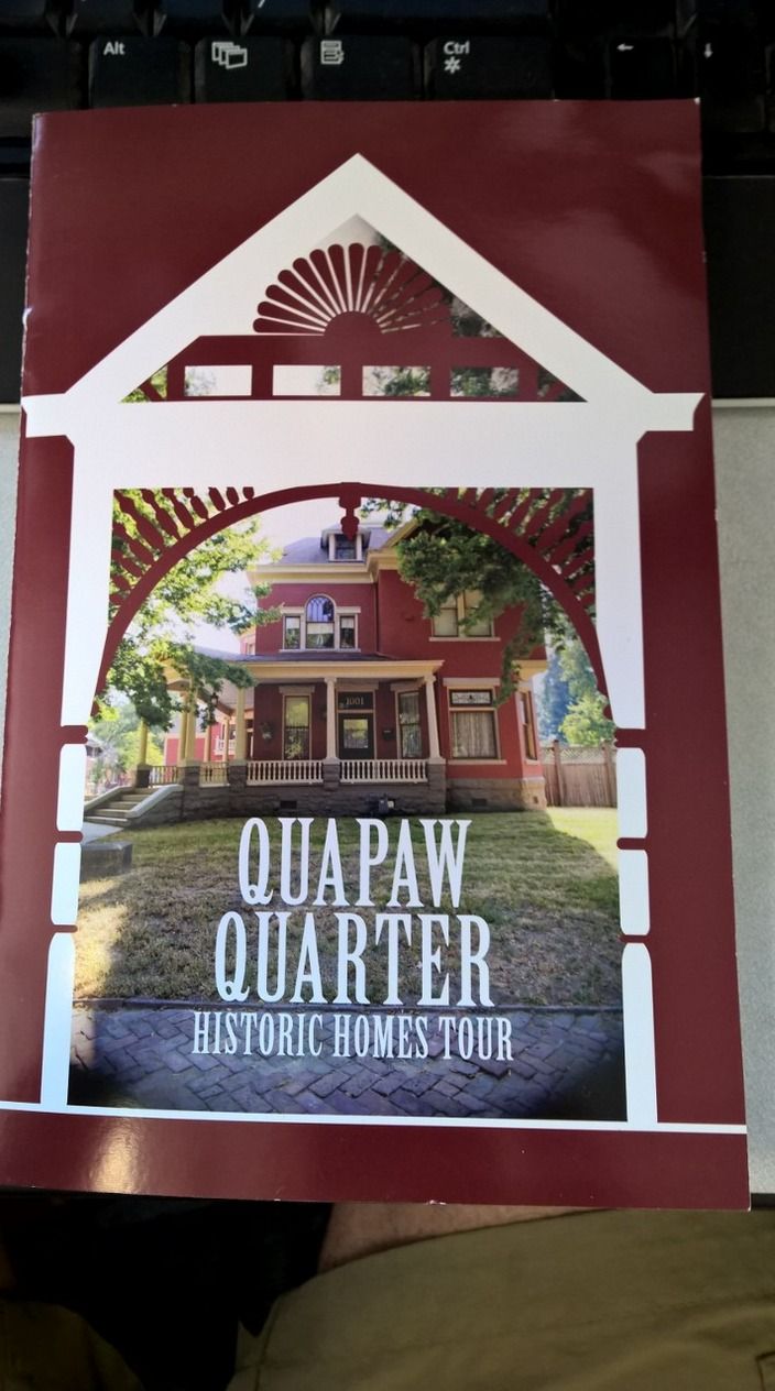 Quapaw Quarter brochure