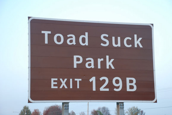 Toad Suck Park !?? Really ?