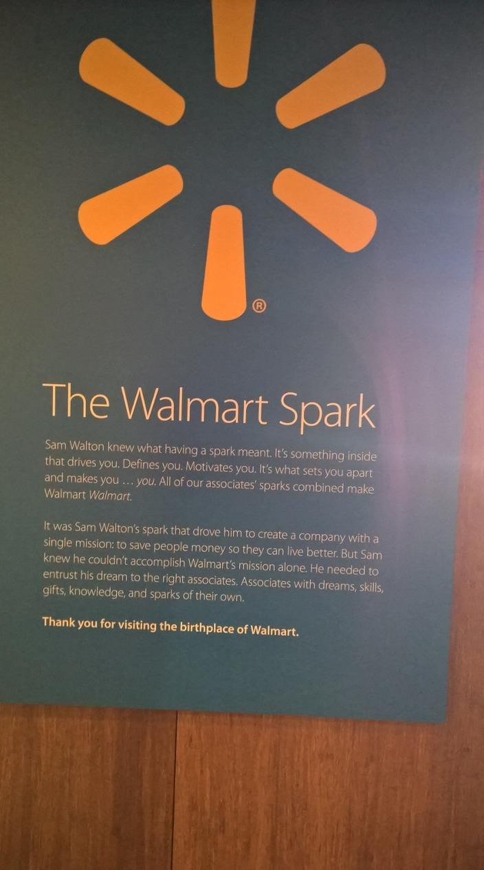 Definition of the Walmart Spark logo