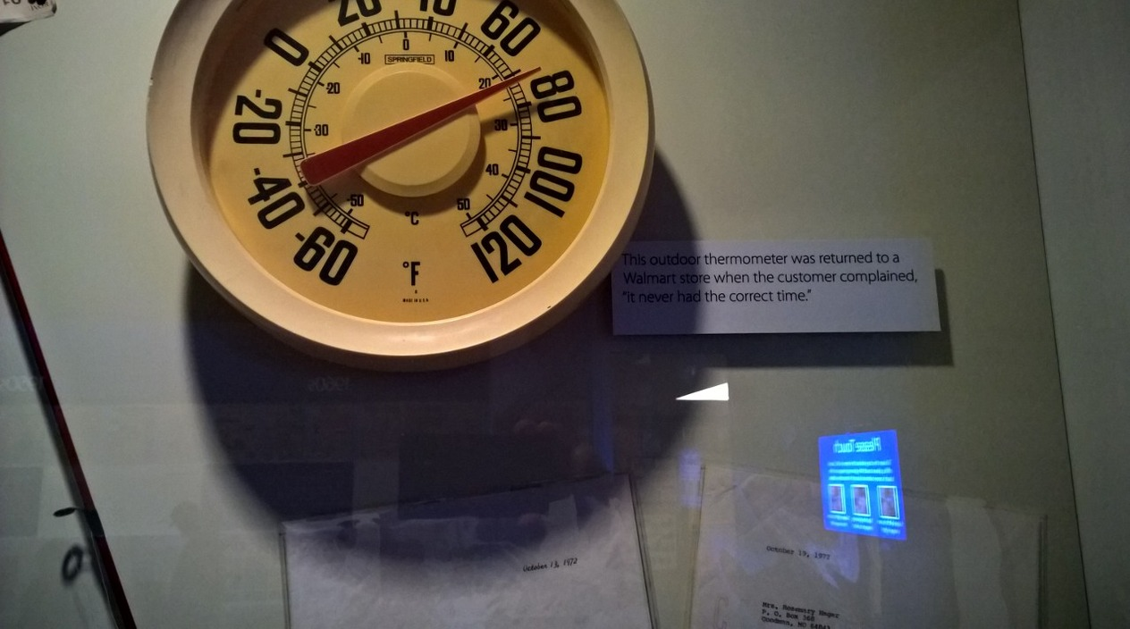 Returned thermometer. Read the caption