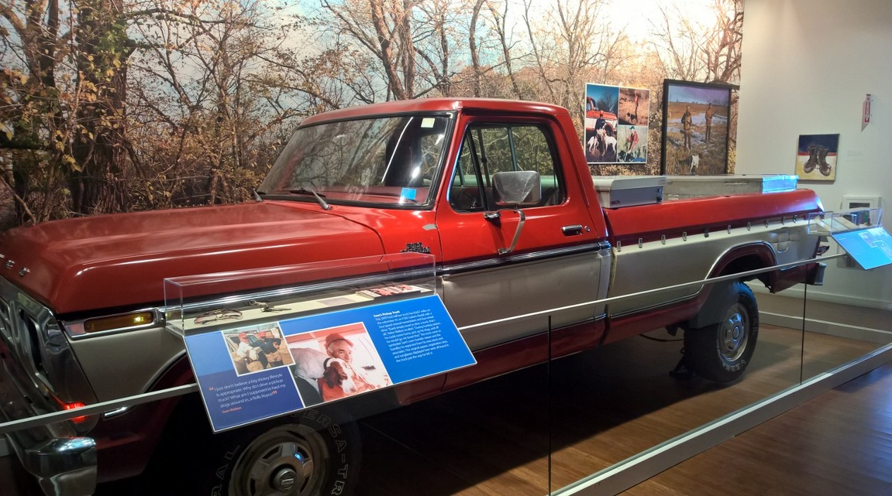 Sam's truck he drove in all the time