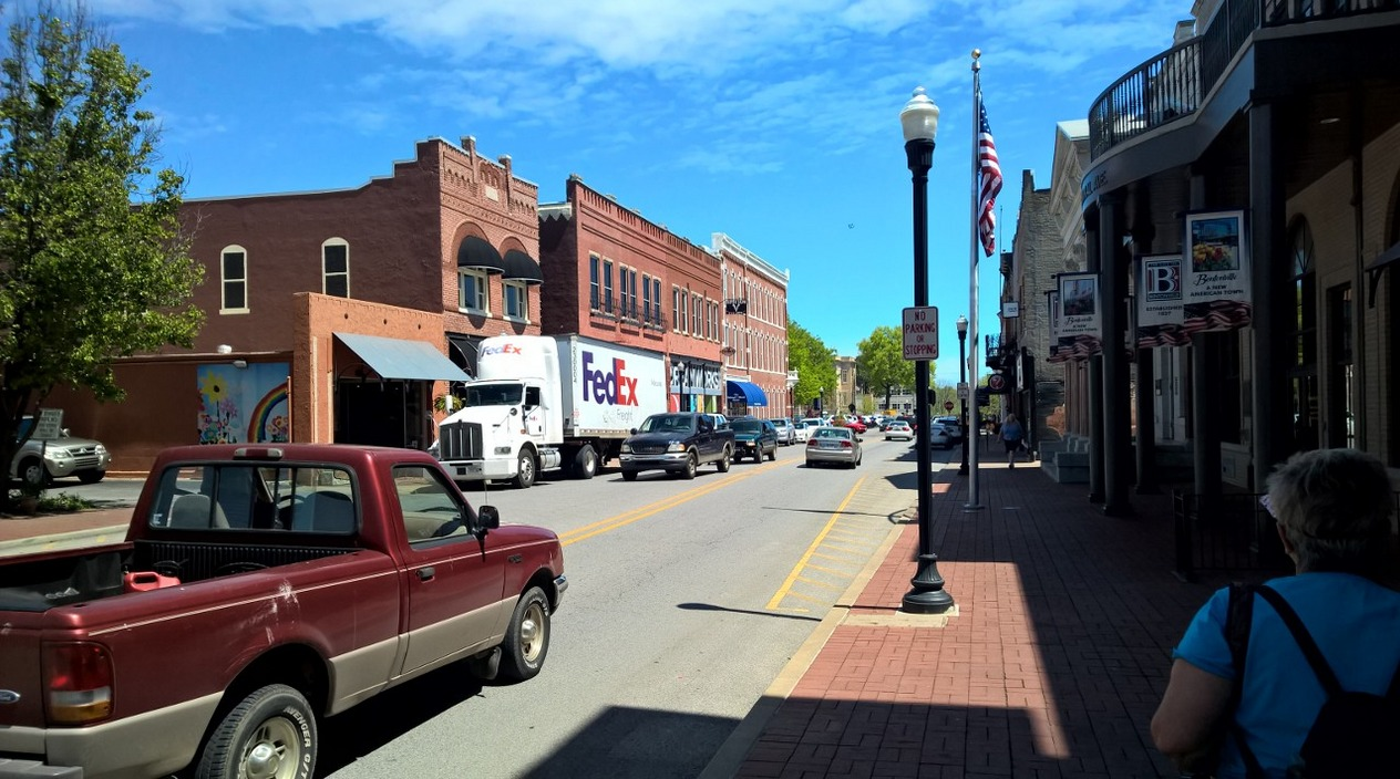 Sweet downtown Bentonville