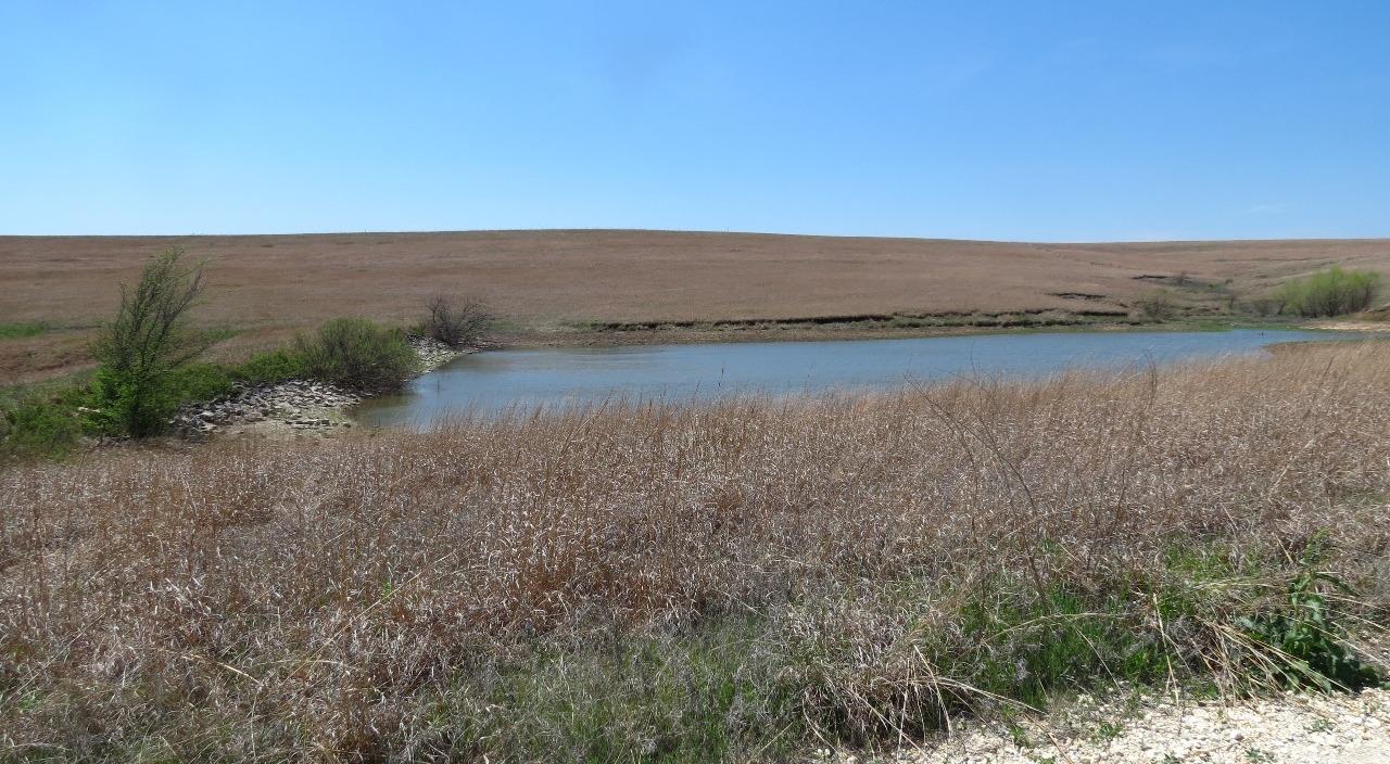 Lake along the trail