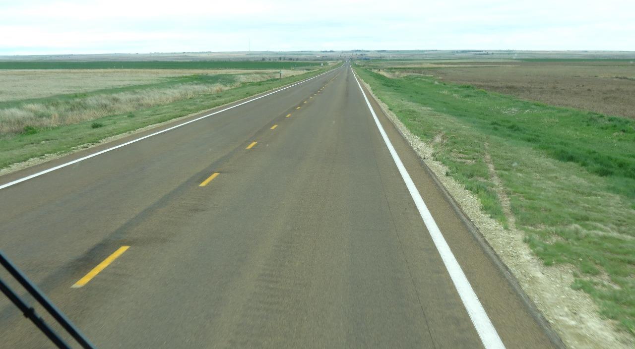 Looking west towards Dodge City