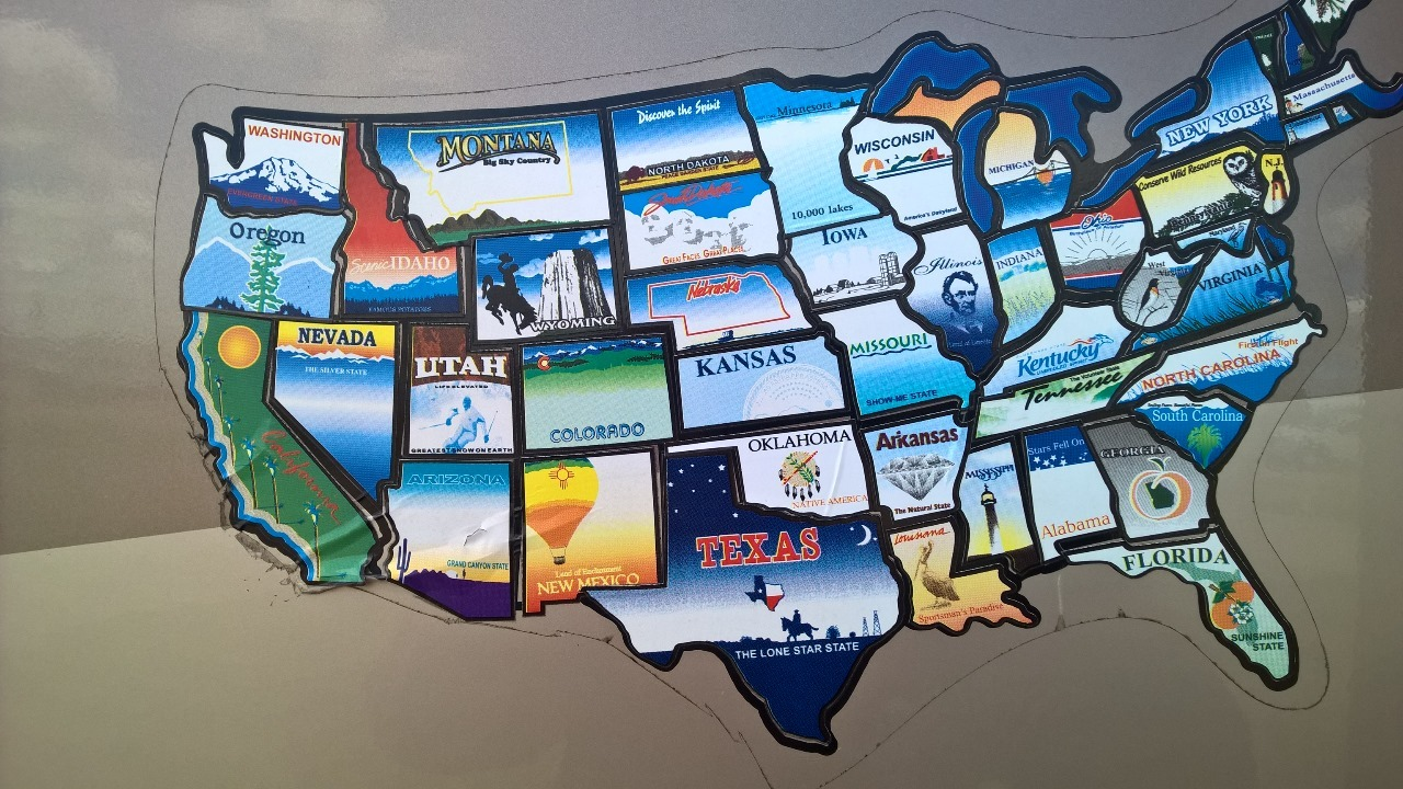 We visited all 48 states !