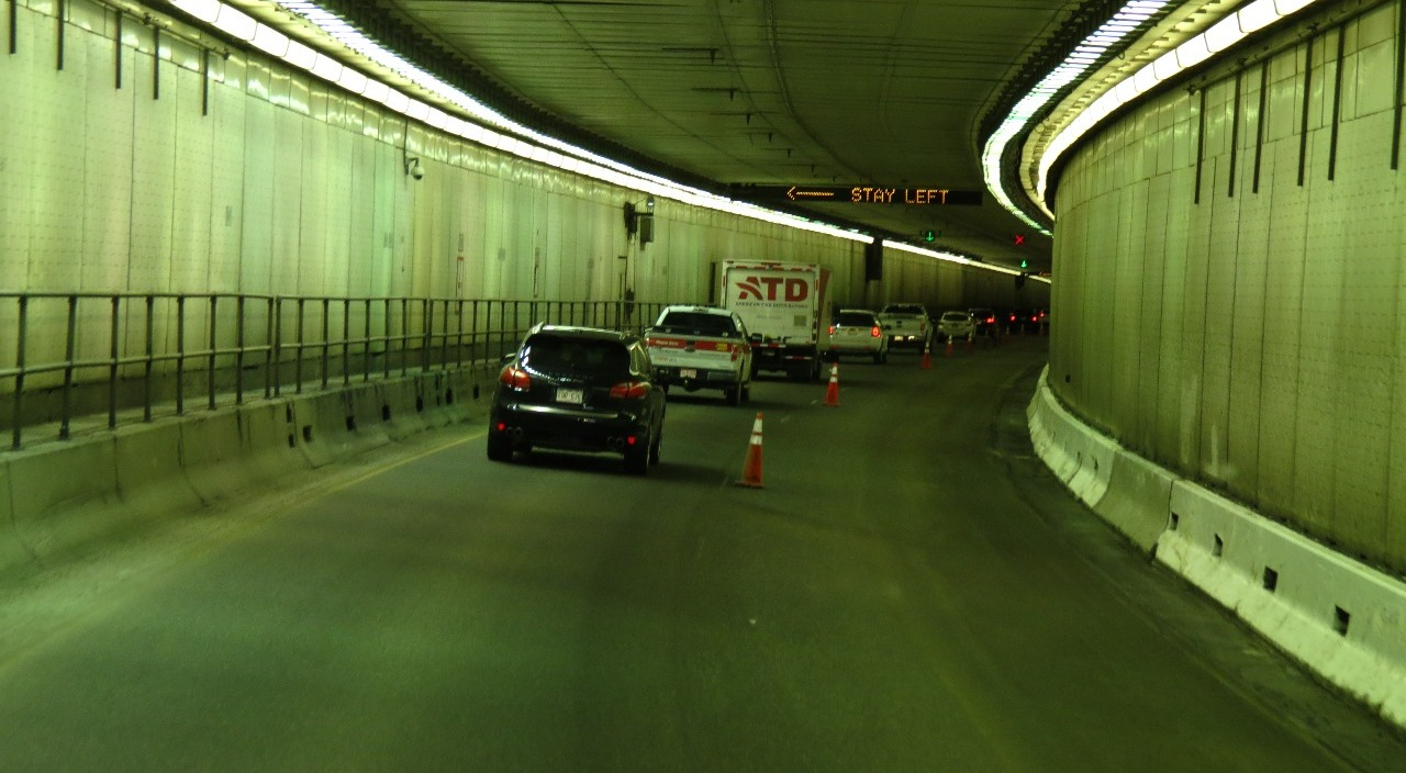 The Eisenhower Tunnel