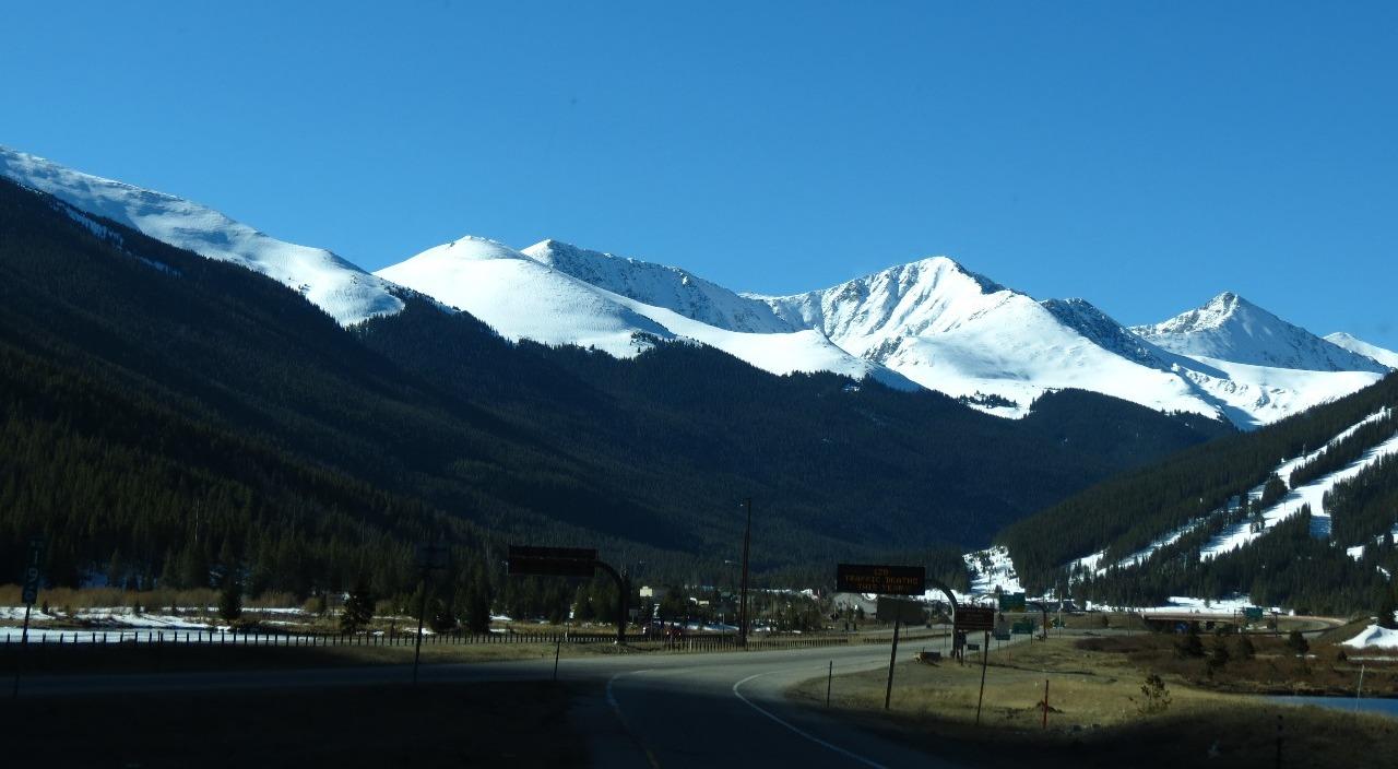 Higher elevation snow
