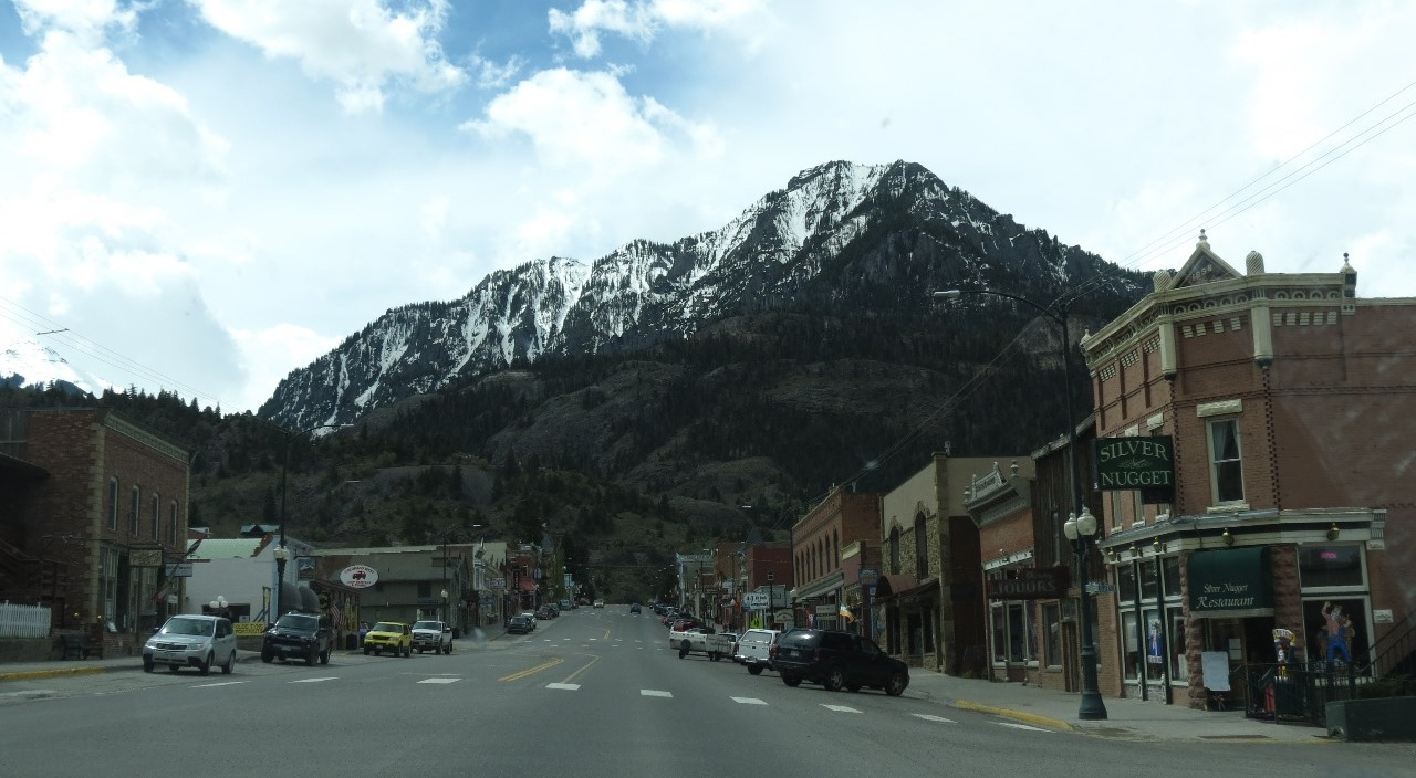 Big town of Ouray
