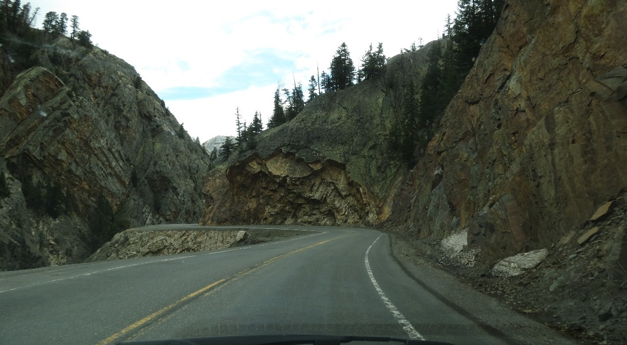 Check out the rocks that have fallen