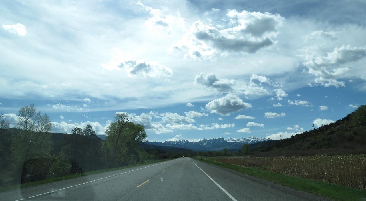 Heading towards the San Juan Mtns
