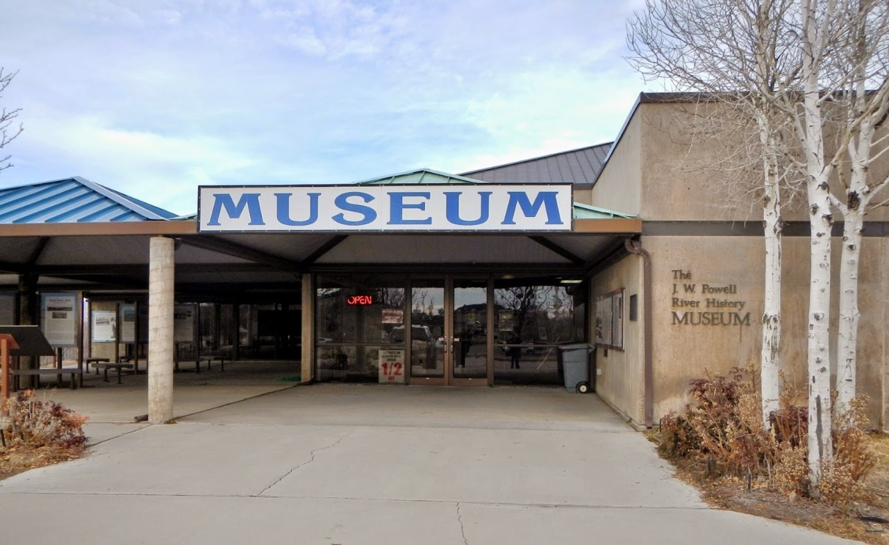 Museum entrance next to the Green River