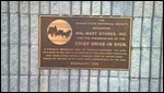 Chief Drive-in Sign plaque