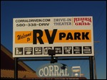 RV park AND a Drive-In