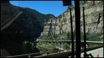 heading through Glenwood Canyon