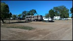 Our RV spot at A/OK RV park in Green River