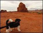 Katie at Arches